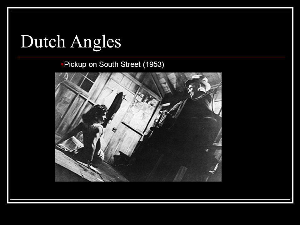 Dutch Angles Pickup on South Street (1953)