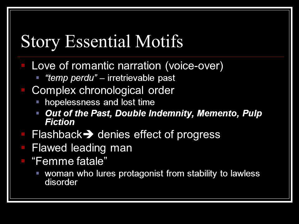 Story Essential Motifs