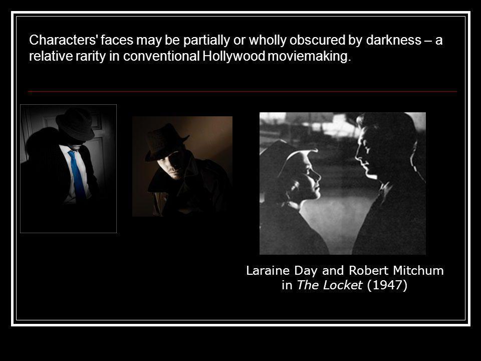 Laraine Day and Robert Mitchum in The Locket (1947)