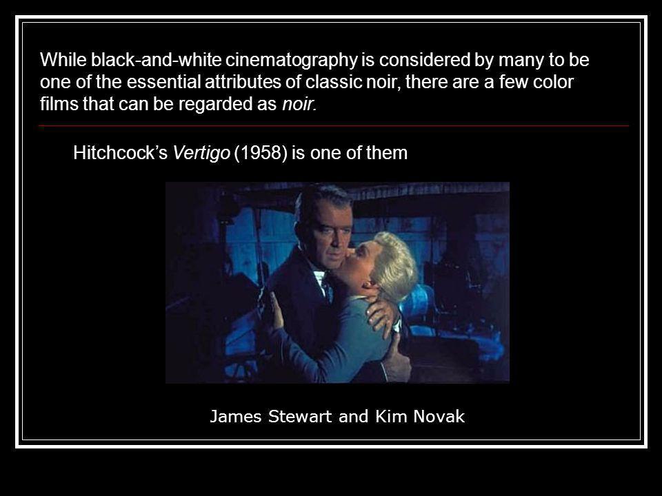 James Stewart and Kim Novak
