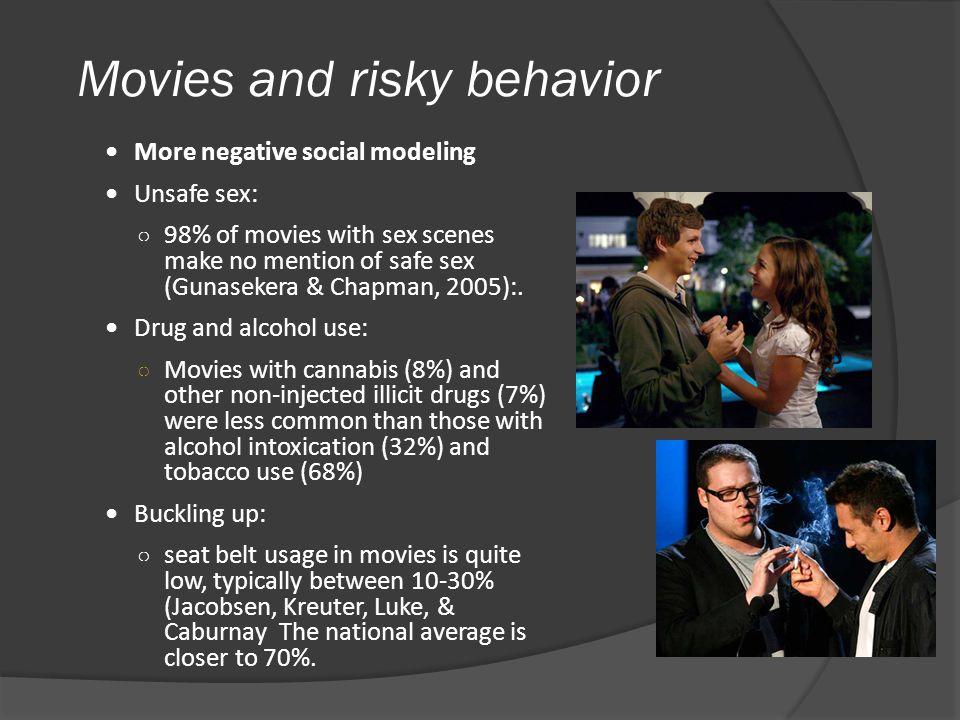 Movies and risky behavior