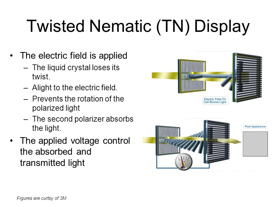 Twisted Nematic (TN) Display