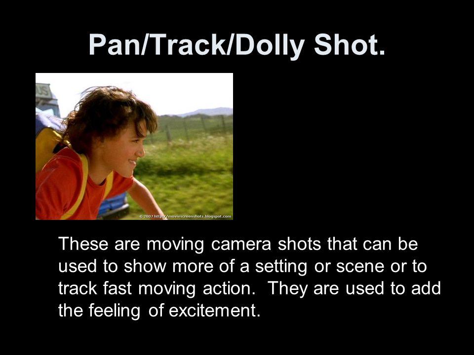 Pan/Track/Dolly Shot.