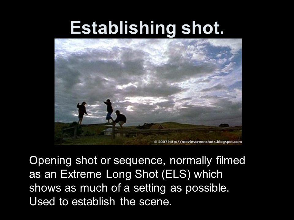 Establishing shot.