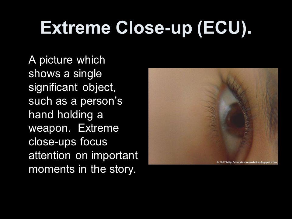 Extreme Close-up (ECU).