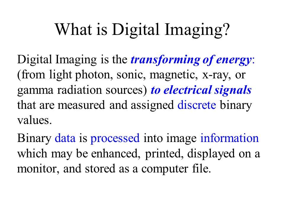 What is Digital Imaging