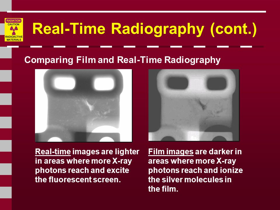 Real-Time Radiography (cont.)