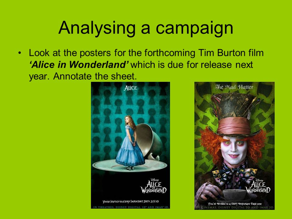 Analysing a campaign