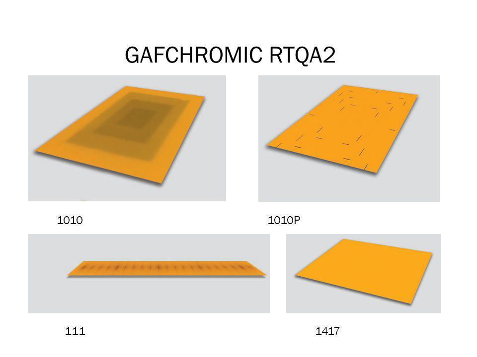 GAFCHROMIC RTQA2 1010 1010P 111 1417