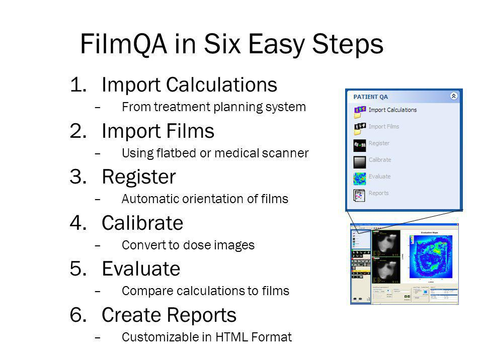 FilmQA in Six Easy Steps