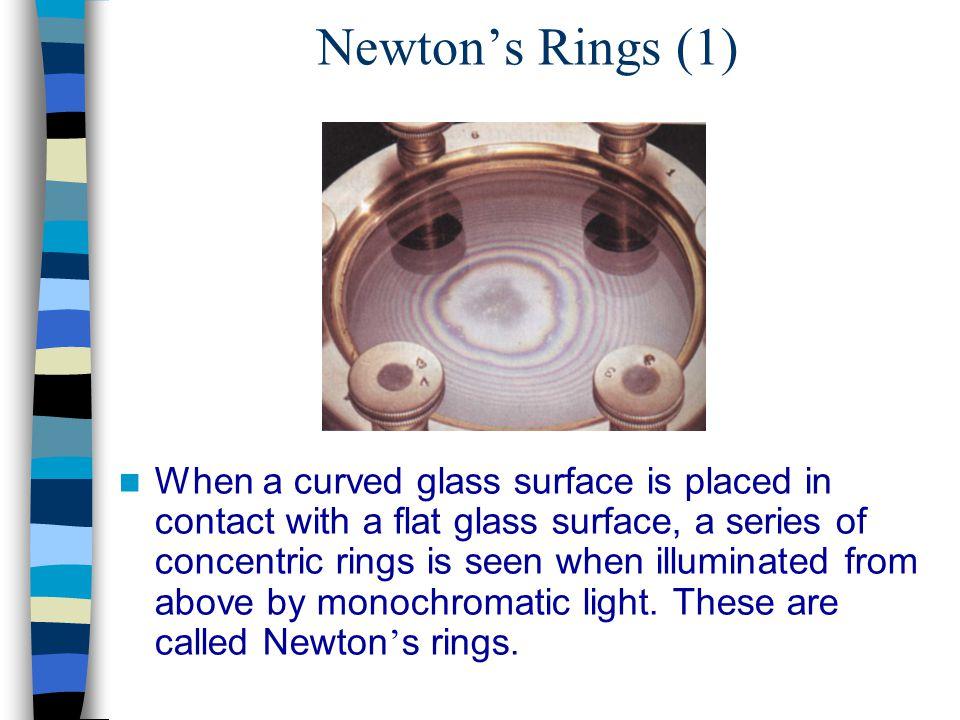 Newton's Rings (1)