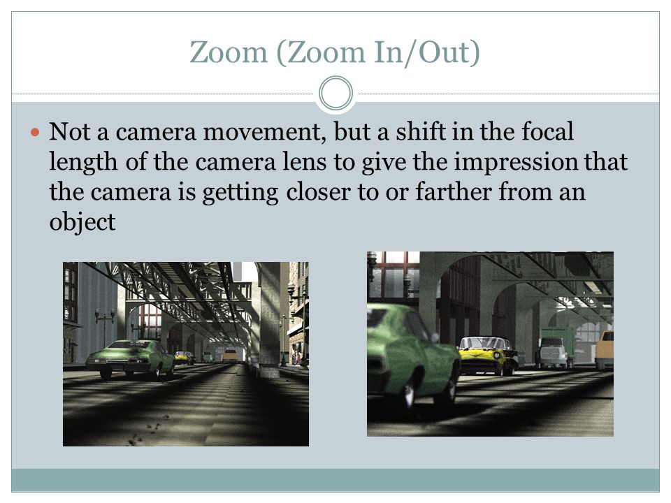 Zoom (Zoom In/Out)