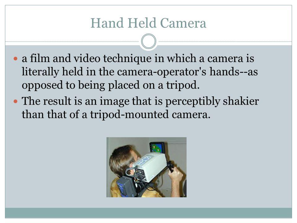 Hand Held Camera