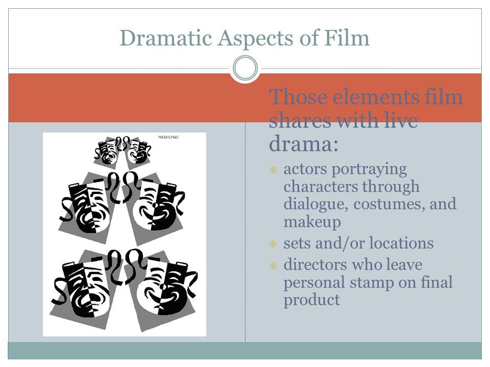 Dramatic Aspects of Film