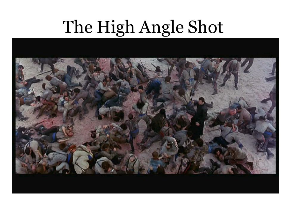 The High Angle Shot