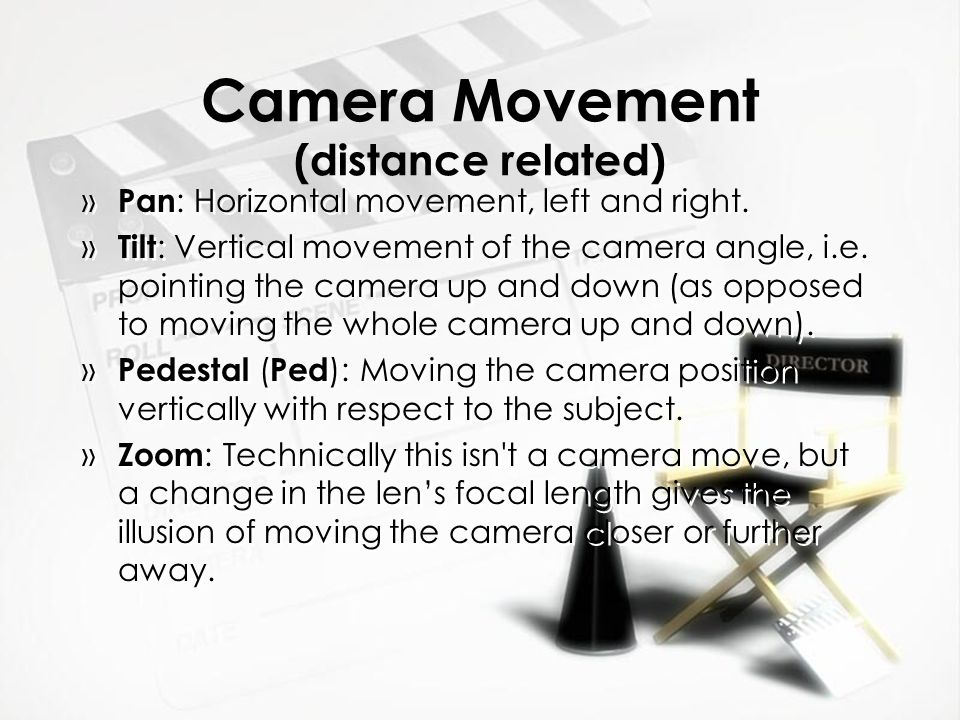 Camera Movement (distance related)