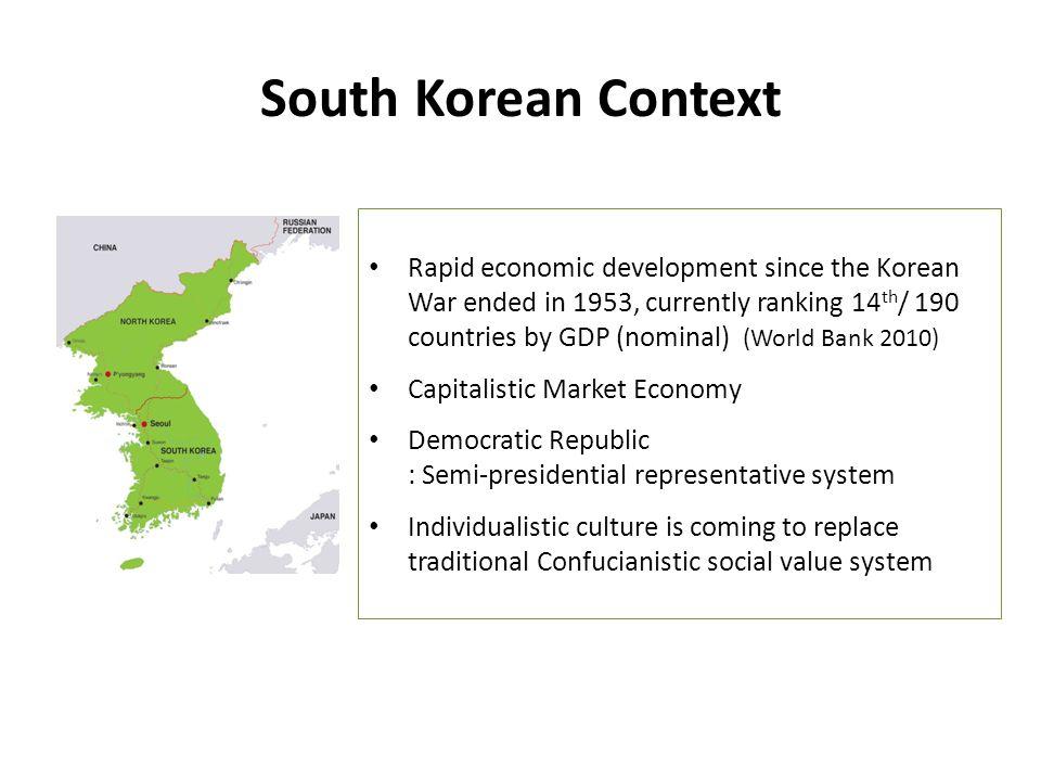 South Korean Context