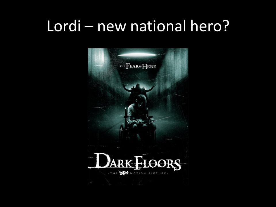 Lordi – new national hero