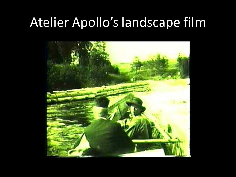 Atelier Apollo's landscape film