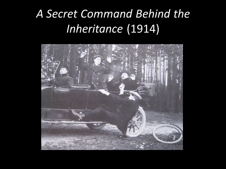 A Secret Command Behind the Inheritance (1914)