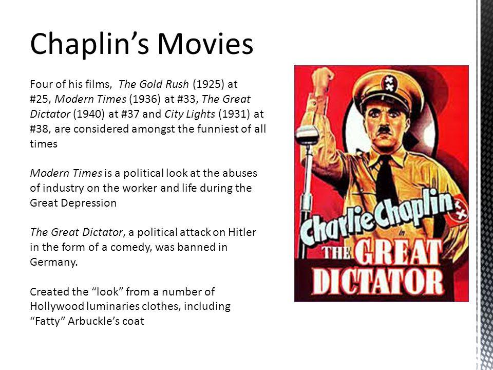 Chaplin's Movies