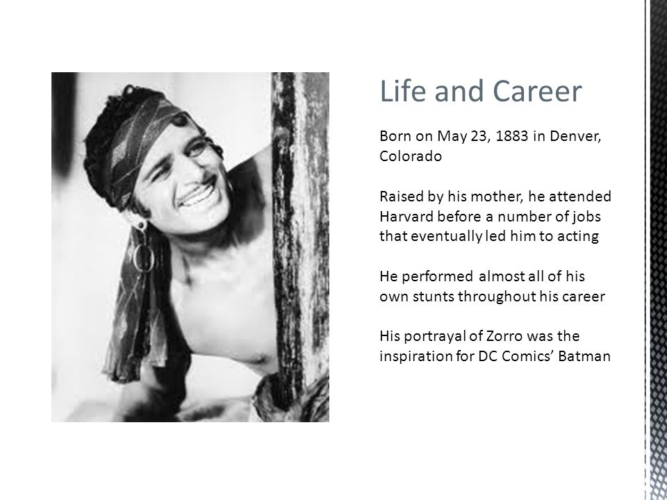 Life and Career Born on May 23, 1883 in Denver, Colorado