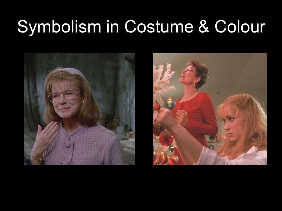 Symbolism in Costume & Colour