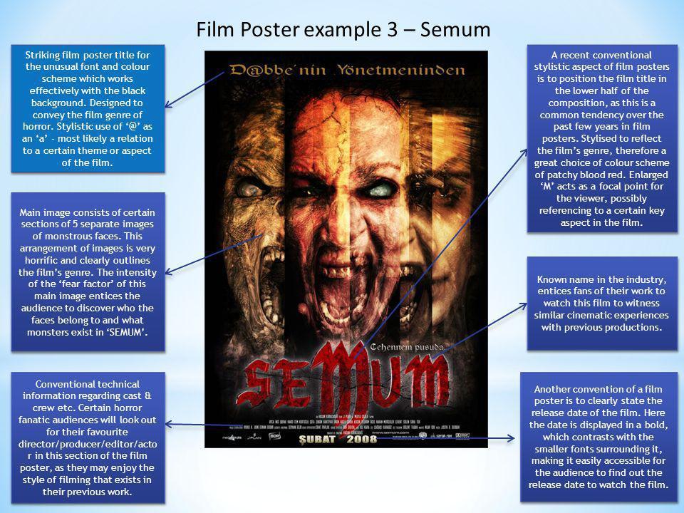 Film Poster example 3 – Semum