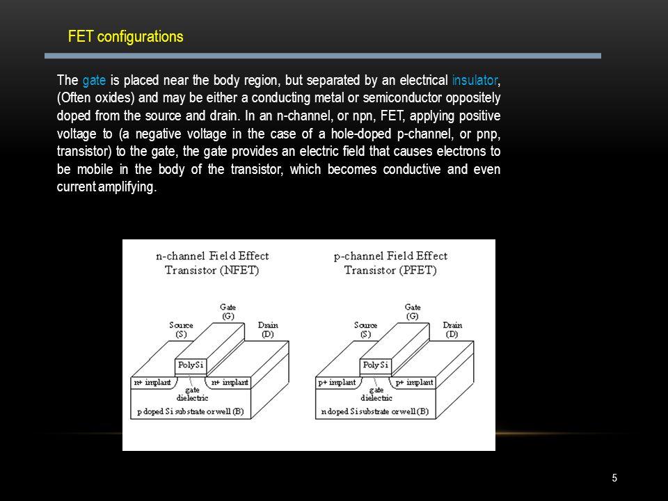 FET configurations