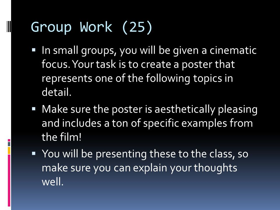 Group Work (25)