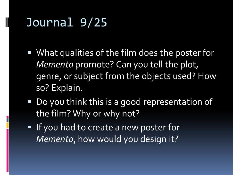 Journal 9/25