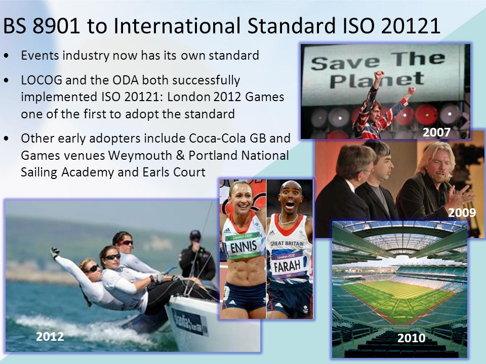 BS 8901 to International Standard ISO 20121