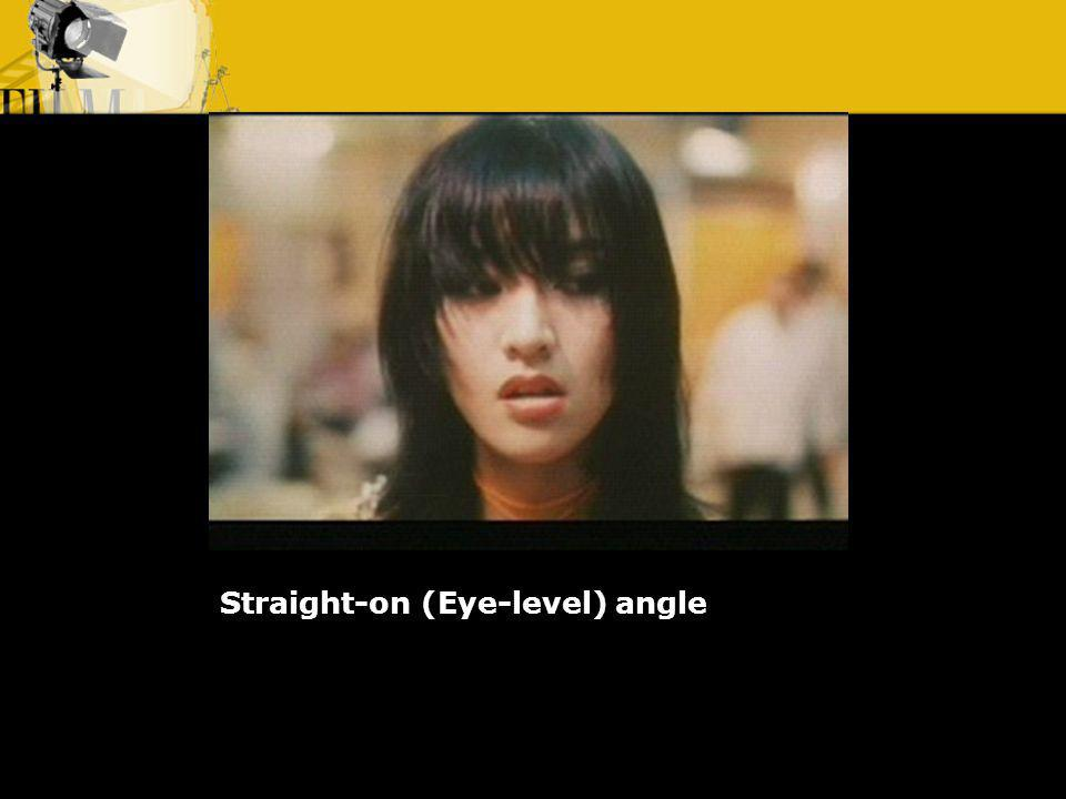 Straight-on (Eye-level) angle