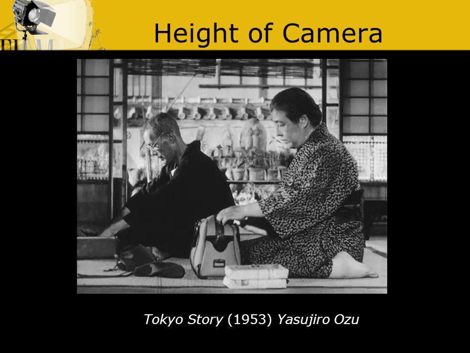 Height of Camera Tokyo Story (1953) Yasujiro Ozu