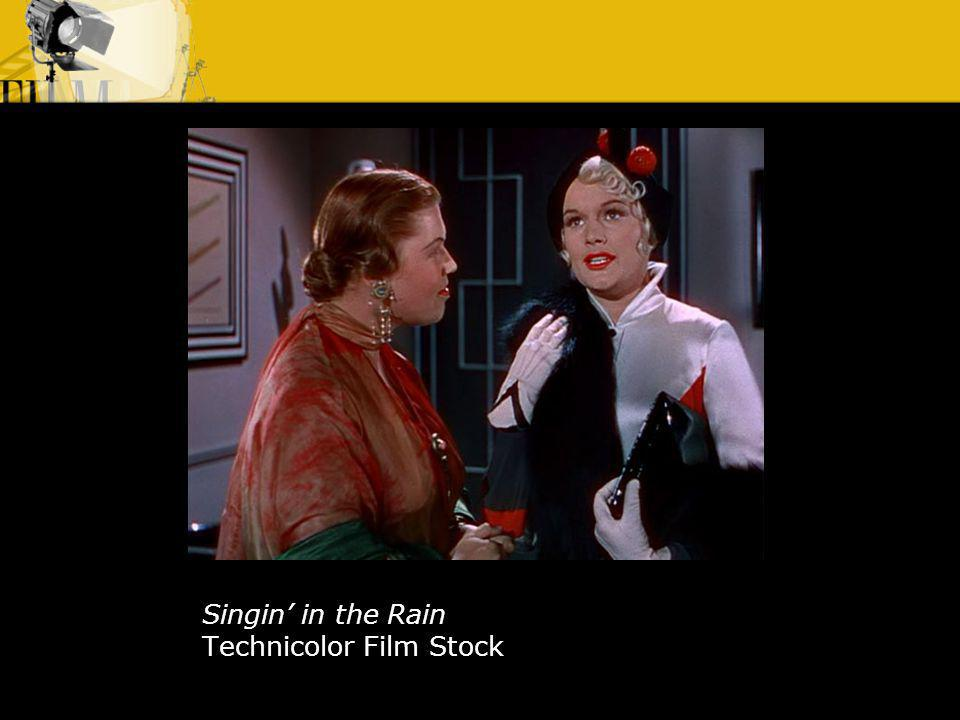 Singin' in the Rain Technicolor Film Stock