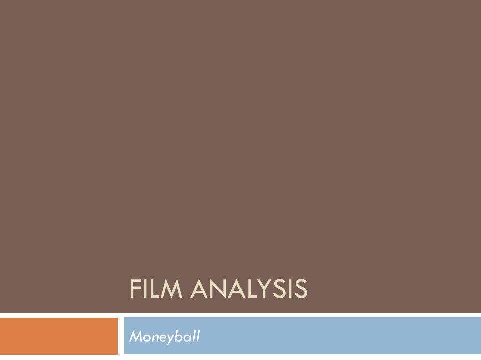Film Analysis Moneyball