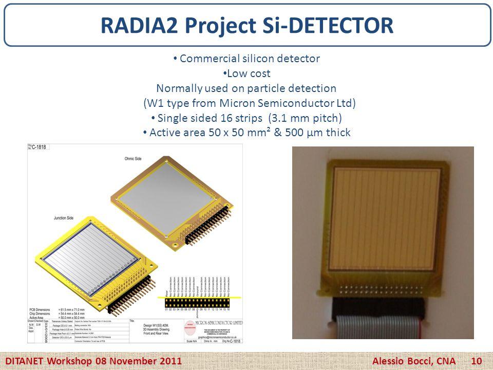 RADIA2 Project Si-DETECTOR