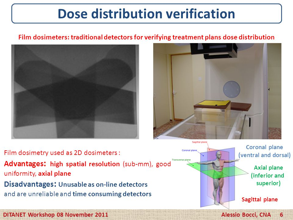 Dose distribution verification