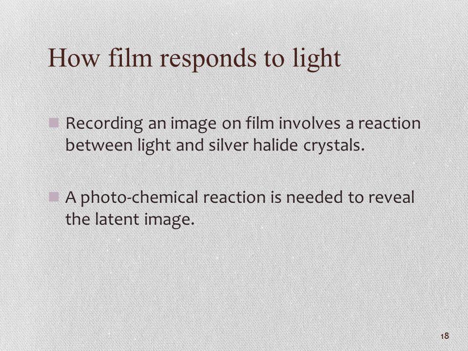 How film responds to light