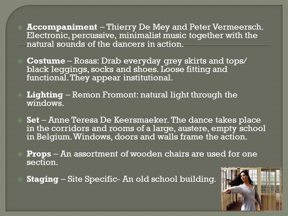 Accompaniment – Thierry De Mey and Peter Vermeersch