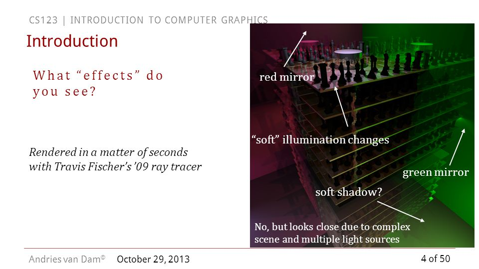 Introduction What effects do you see red mirror