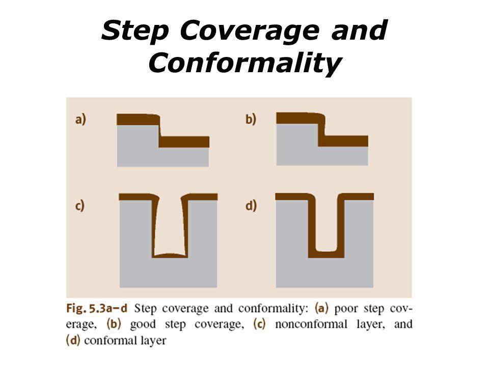 Step Coverage and Conformality