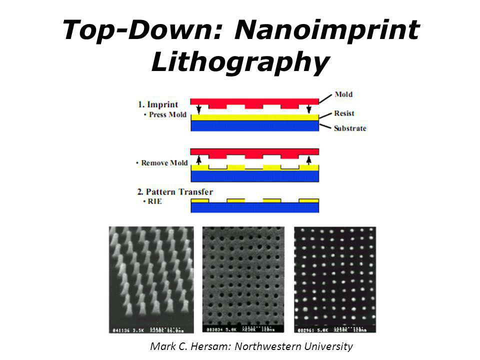Top-Down: Nanoimprint Lithography
