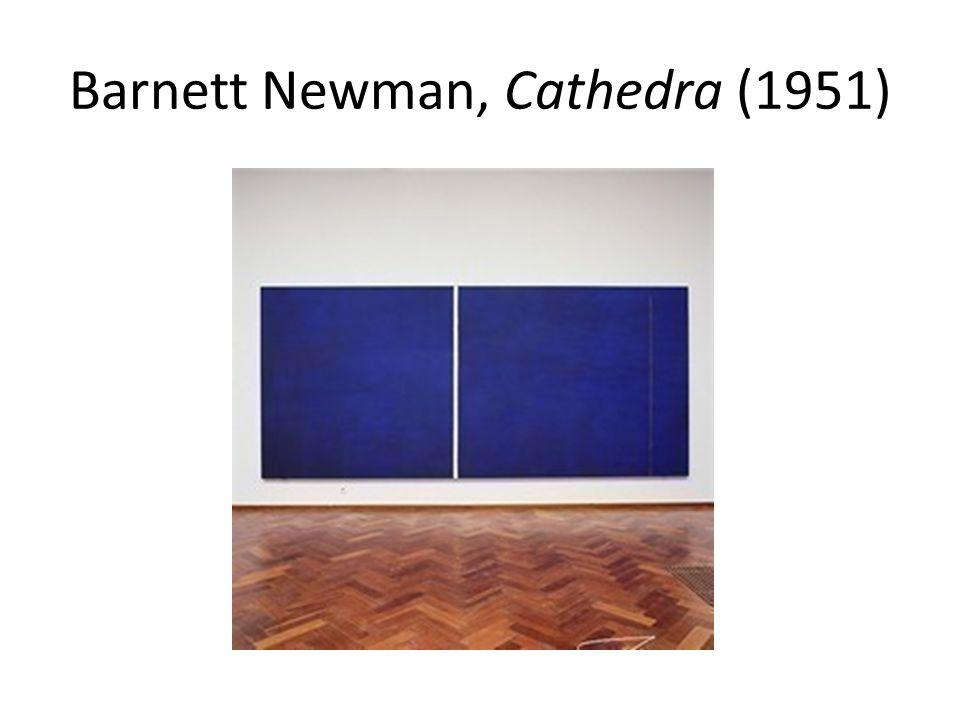 Barnett Newman, Cathedra (1951)