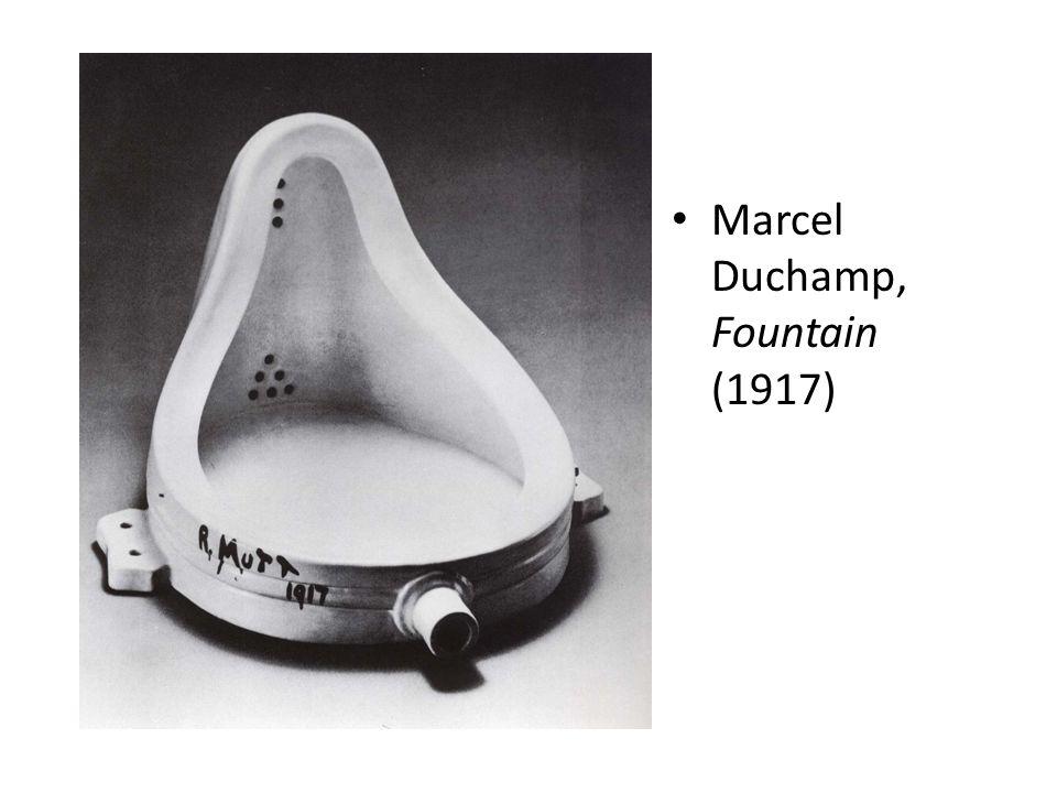 Marcel Duchamp, Fountain (1917)