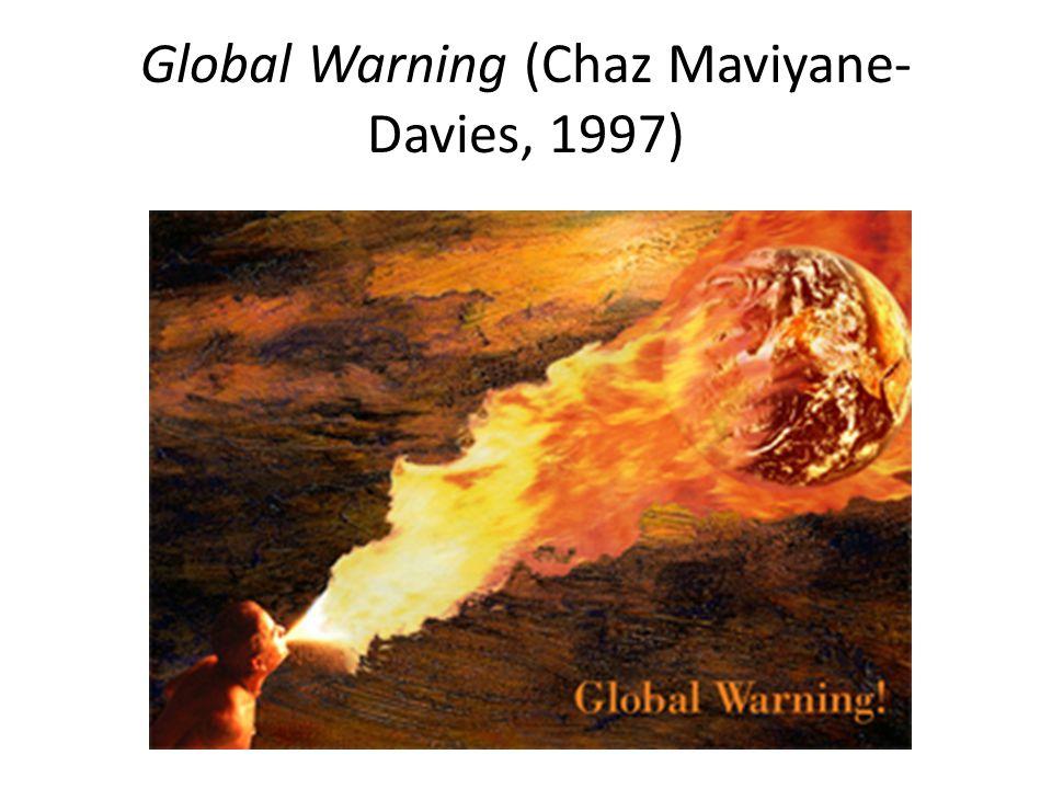 Global Warning (Chaz Maviyane-Davies, 1997)