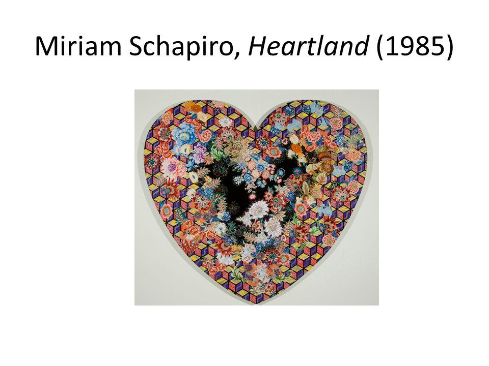 Miriam Schapiro, Heartland (1985)