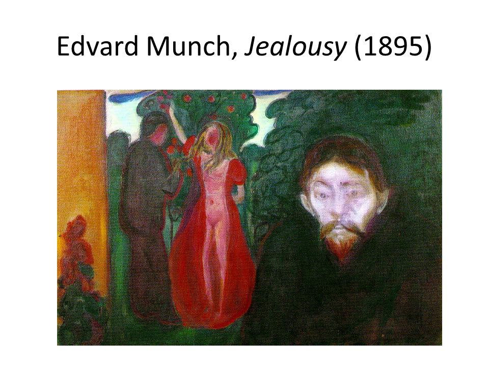 Edvard Munch, Jealousy (1895)