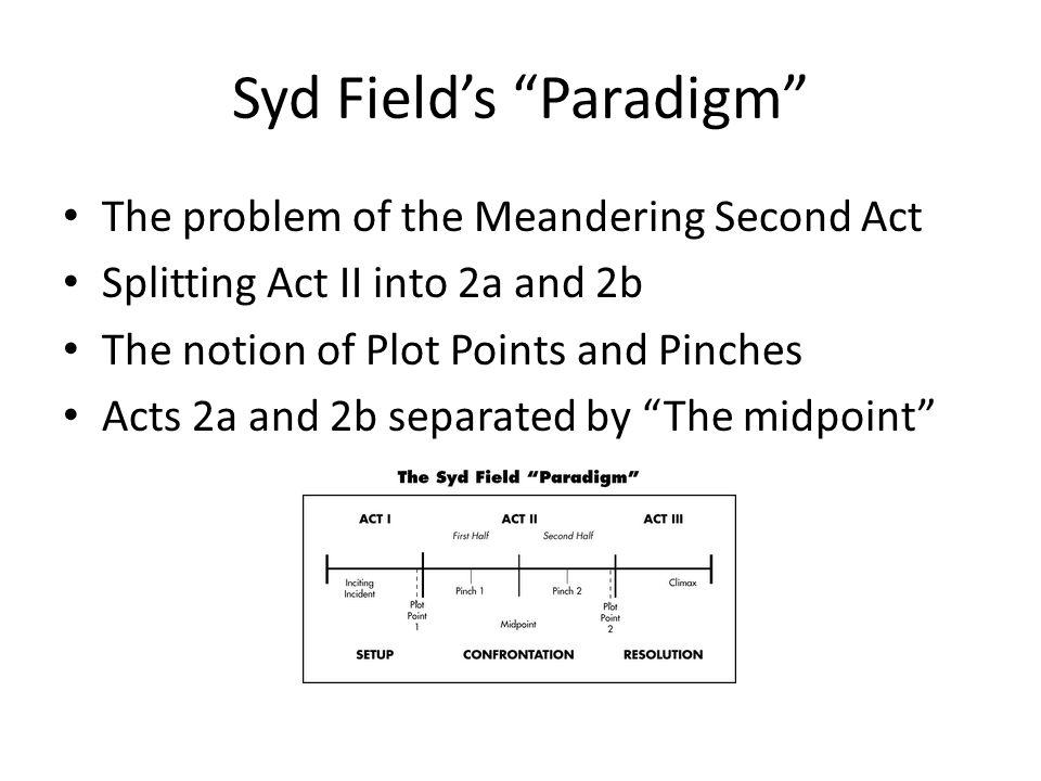 Syd Field's Paradigm