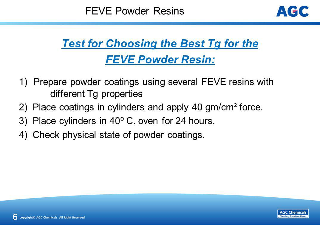 Physical State of the Powder Coating